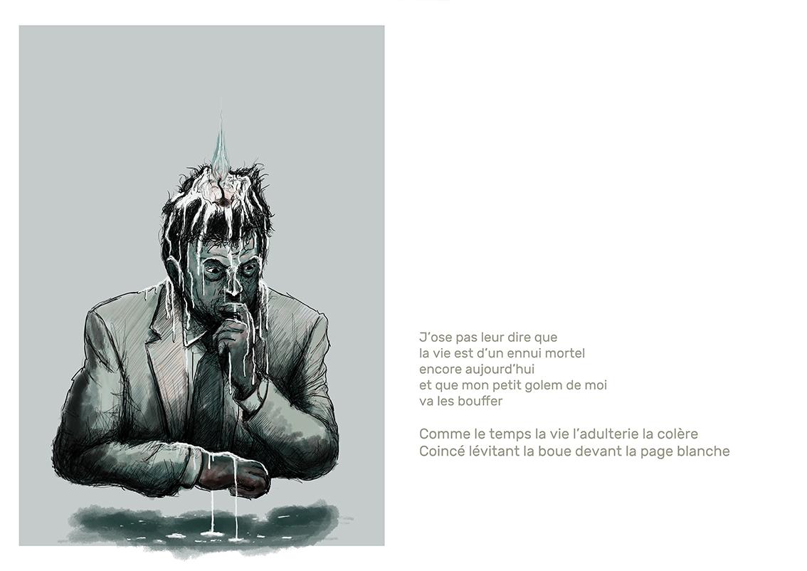 Poèmes illustés - 4 Adulte SD